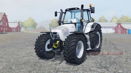 Hurlimann XL 130 added wheels para Farming Simulator 2013
