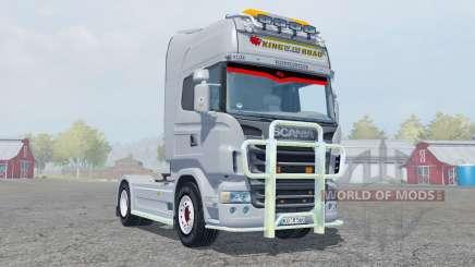 Scania R560 Highline gray para Farming Simulator 2013