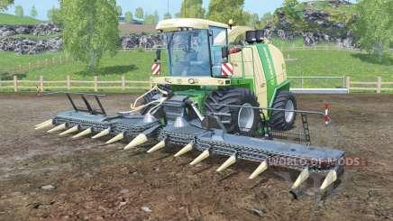 Krone BiG X 1100 black cutters para Farming Simulator 2015
