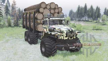 VTS Ural-Polyarnik Ejército para Spin Tires