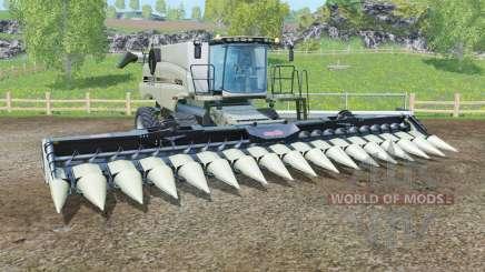 Case IH Axial-Flow 9230 with headers para Farming Simulator 2015