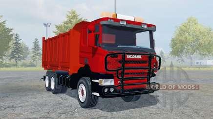 Scania P420 tipper para Farming Simulator 2013