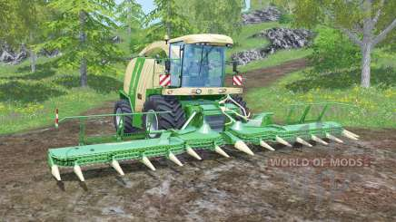 Krone BiG X 1100 animated joystick para Farming Simulator 2015