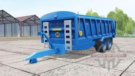 Marshall QM-16 french blue para Farming Simulator 2017