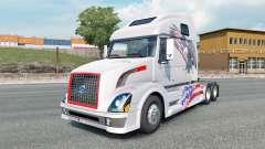 Volvo VNL 670 light gray para Euro Truck Simulator 2