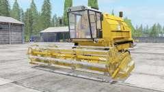 Bizon Gigant Z083 minion yellow para Farming Simulator 2017