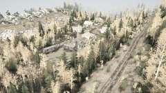 En el asentamiento para MudRunner