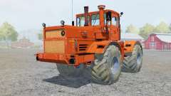 Kirovets K-700A color naranja brillante para Farming Simulator 2013