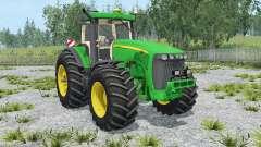 John Deere 8520 extra weightʂ para Farming Simulator 2015