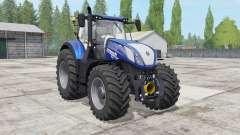 New Holland T7.290-315 Blue Power para Farming Simulator 2017