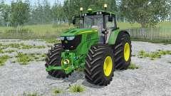John Deere 6170M animated element para Farming Simulator 2015