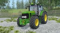 John Deere 6930 Premium frente loadeᶉ para Farming Simulator 2015