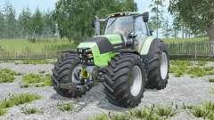 Deutz-Fahr 7250 TTV Agrotron chiptuning para Farming Simulator 2015