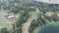 Lago del bosque para Spin Tires