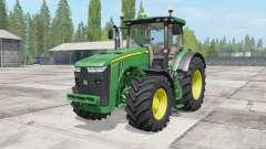 John Deere 8230-8370R para Farming Simulator 2017