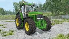 John Deere 7810 change wheels para Farming Simulator 2015