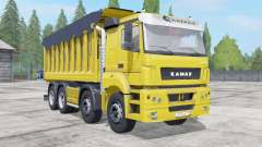 KamAZ-65201 con el trailer para Farming Simulator 2017