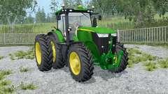 John Deere 7310R frente loadeᶉ para Farming Simulator 2015