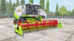 Claas Lexion 530 vivid lime green para Farming Simulator 2017