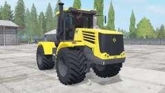 Kirovets K-744Р4 color amarillo para Farming Simulator 2017