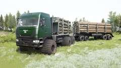El Yamal-6 6x6 2013 para MudRunner
