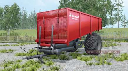 Kverneland Taarup Shuttle coral red para Farming Simulator 2015