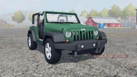 Jeep Wrangler (JK) para Farming Simulator 2013