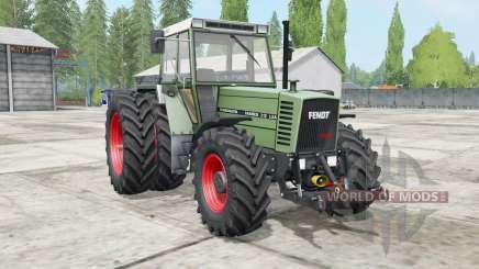 Fendt Farmer 300 LSA Turbomatik wheels selection para Farming Simulator 2017