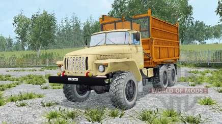Ural-5557 suave color amarillo para Farming Simulator 2015