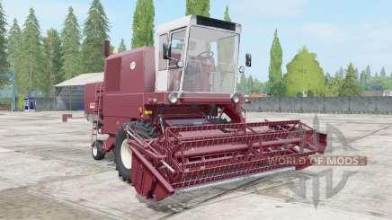 Bizon Super Z056 redwood para Farming Simulator 2017