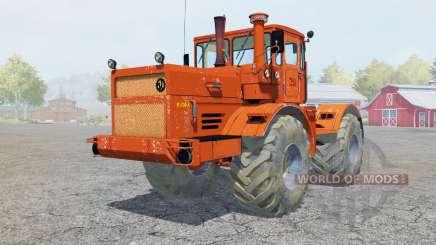Kirovets K-700A color naranja brillante para Farming Simulator 2013