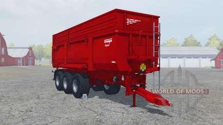 Krampe Big Body 900 S guardsman red para Farming Simulator 2013