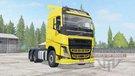 Volvo FH 540 Globetrotter cab para Farming Simulator 2017