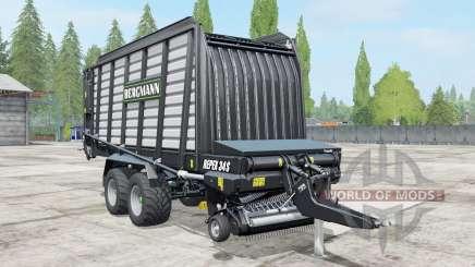 Bergmann Repex 34S black para Farming Simulator 2017