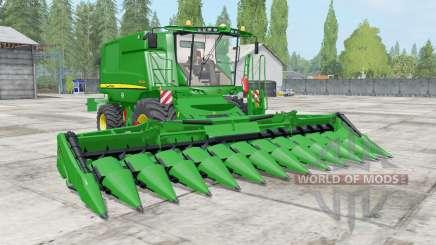 John Deere T600 dynamic hoses para Farming Simulator 2017
