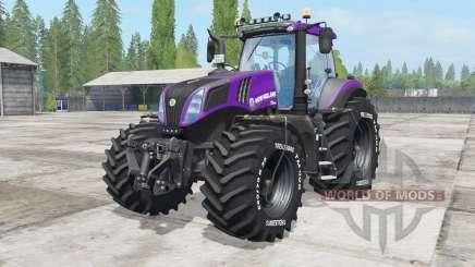 New Holland T8.420 Reᶏver para Farming Simulator 2017