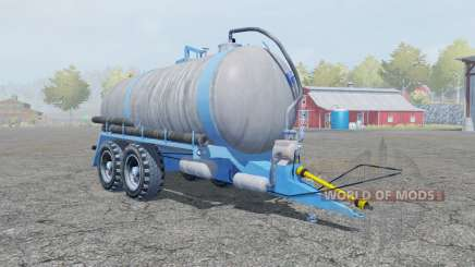 Fortschritt HTS 100.27 spanish sky blue para Farming Simulator 2013