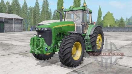 John Deere 8520 2002 para Farming Simulator 2017