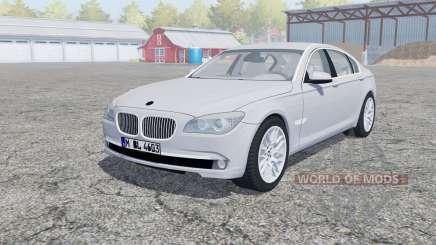 BMW 750Li (F02) open doors para Farming Simulator 2013