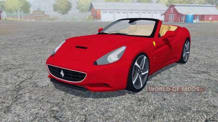 Ferrari California 2010 4WD para Farming Simulator 2013