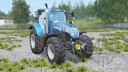 New Holland T7 Blue Power para Farming Simulator 2015