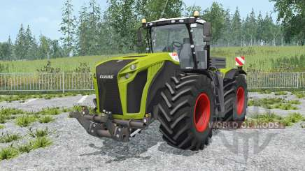 Claas Xerion 5000 Trac VC change wheels para Farming Simulator 2015