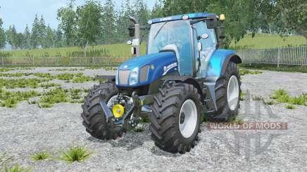 New Holland T6.175 Blue Power para Farming Simulator 2015