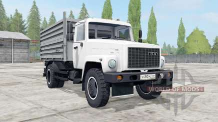 GAZ-SAZ-35071 color blanco para Farming Simulator 2017
