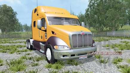 Peterbilt 387 dirty para Farming Simulator 2015
