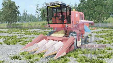 Bizon Z056 animated element para Farming Simulator 2015