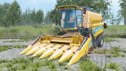 New Holland TC5.90 increased unloading rate para Farming Simulator 2015