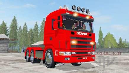 Scania R124L 440 6x4 para Farming Simulator 2017