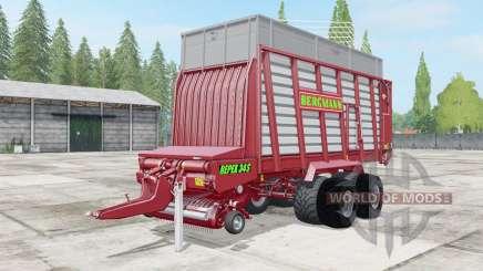 Bergmann Repex 34S more straw hay grass para Farming Simulator 2017