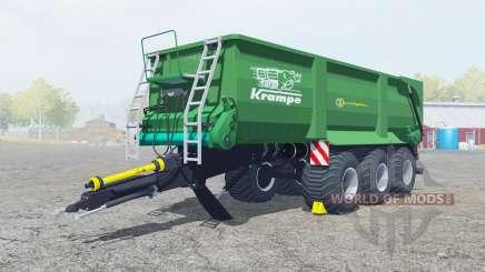 Krampe Bandit 800 shamrock green para Farming Simulator 2013